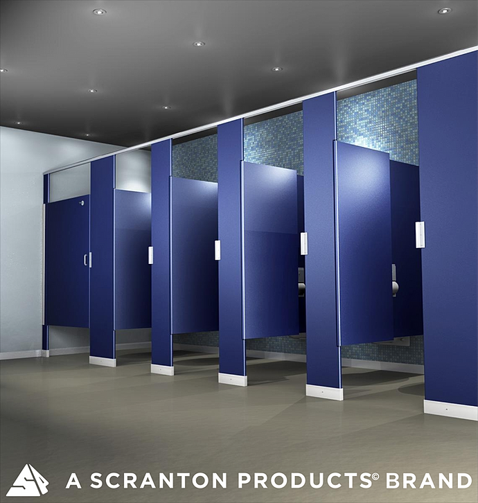 Fascinating Bathroom Partitions Toronto Design Inspiration Of - Public bathroom stall dividers