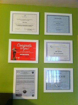 Various Achievements