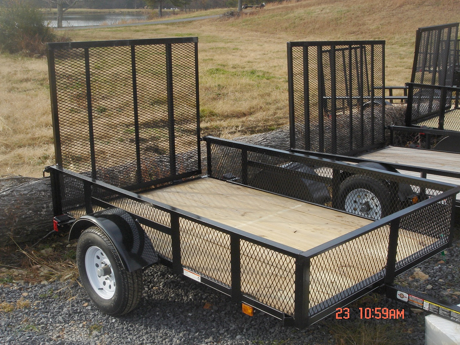 Reed reed sales farming equipment chatsworth georgia for Wood floor utility trailer