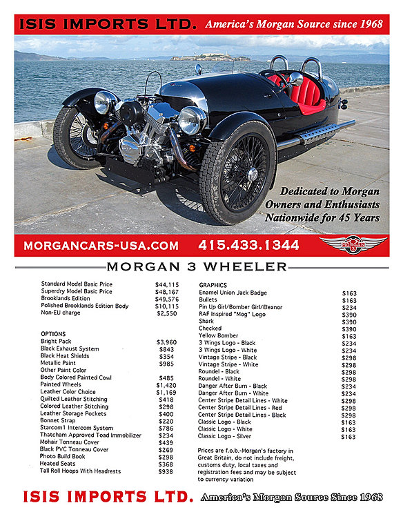 New and Used Morgan Cars for Sale from Isis Imports Ltd ...