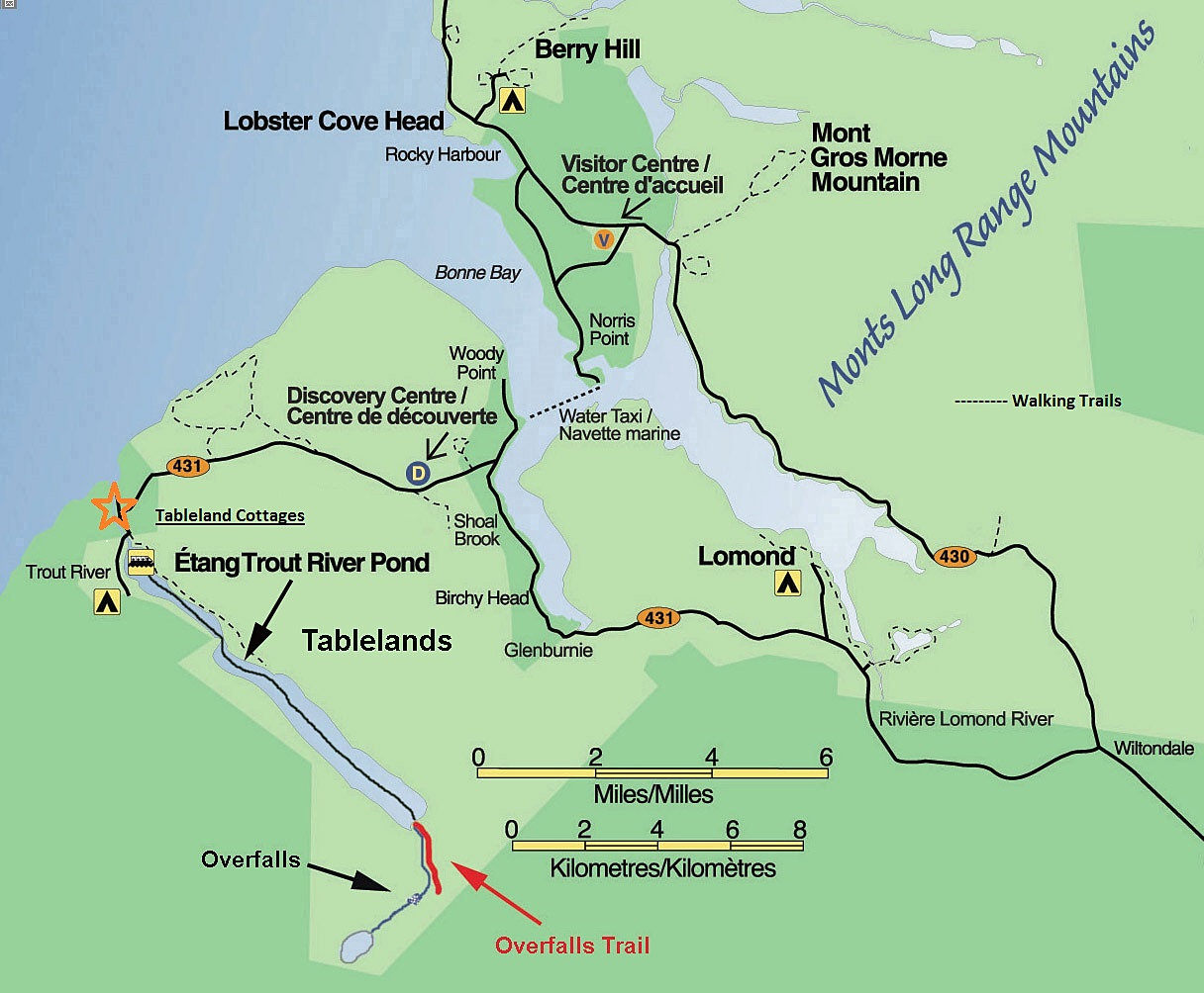 Gros Morne National Park Map