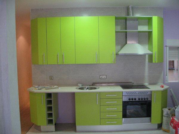 Carp nteria y aluminio for Cocinas integrales en aluminio
