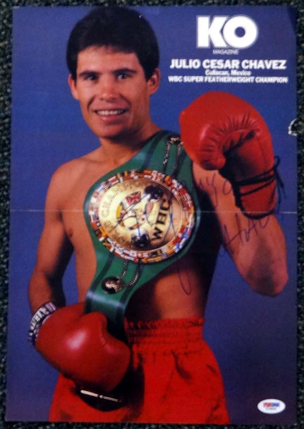 Chavez, Julio Cesar Biography