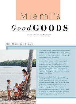 Miami Vibes _ Meet Miami Mom Sharon _ de