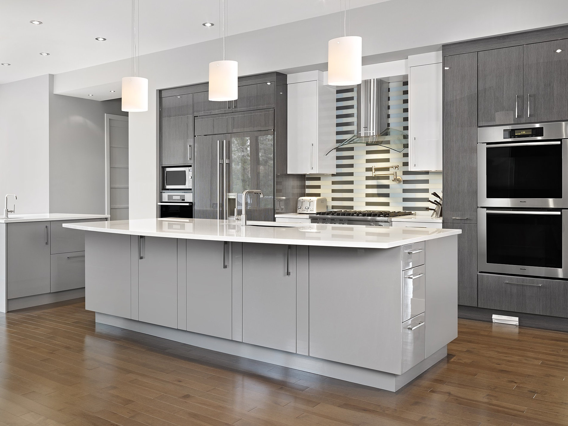 white kitchens with marble countertops shining home design