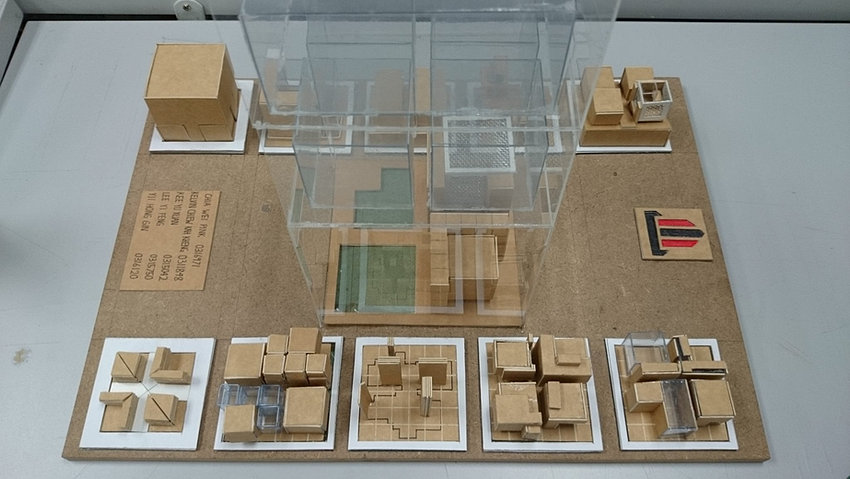 Eisenman house x model