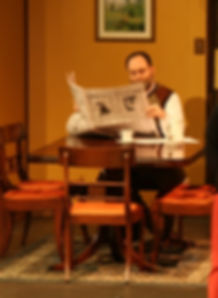 Last Night of Ballyhoo prop newspaper