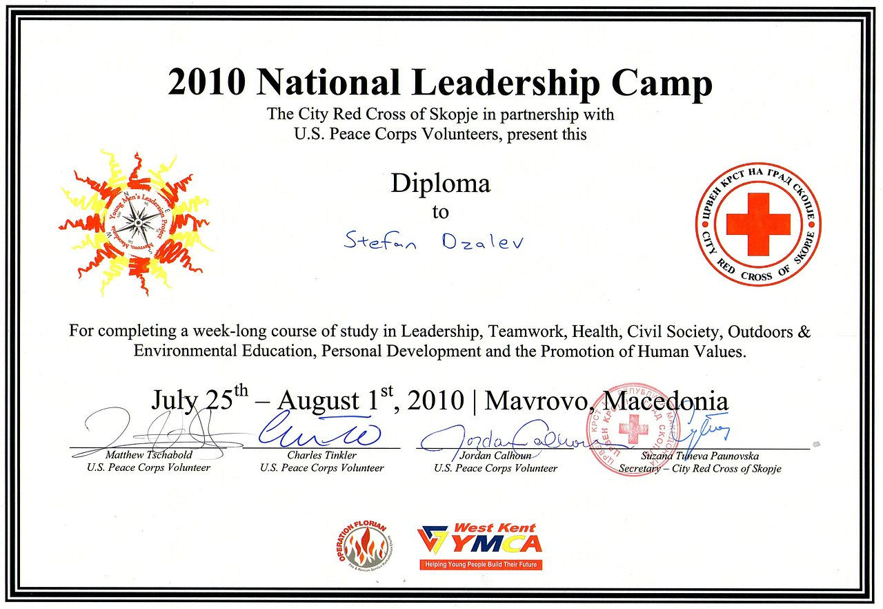 Wix photography created by stefandzalev based on photo focus certificate for being part of a national leadership camp in 2010 1betcityfo Image collections