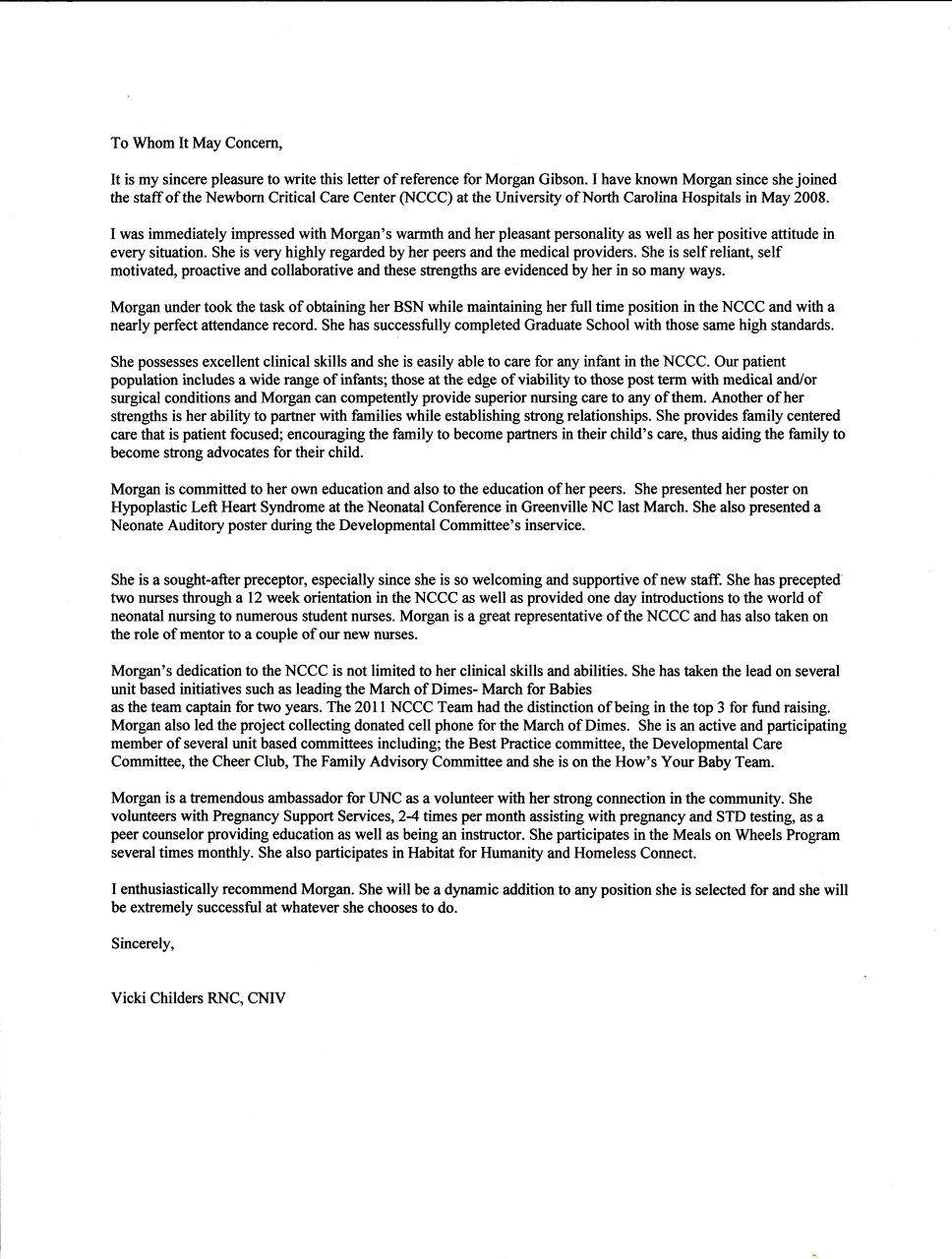 recommendation letter for nurse practitioner canre klonec co
