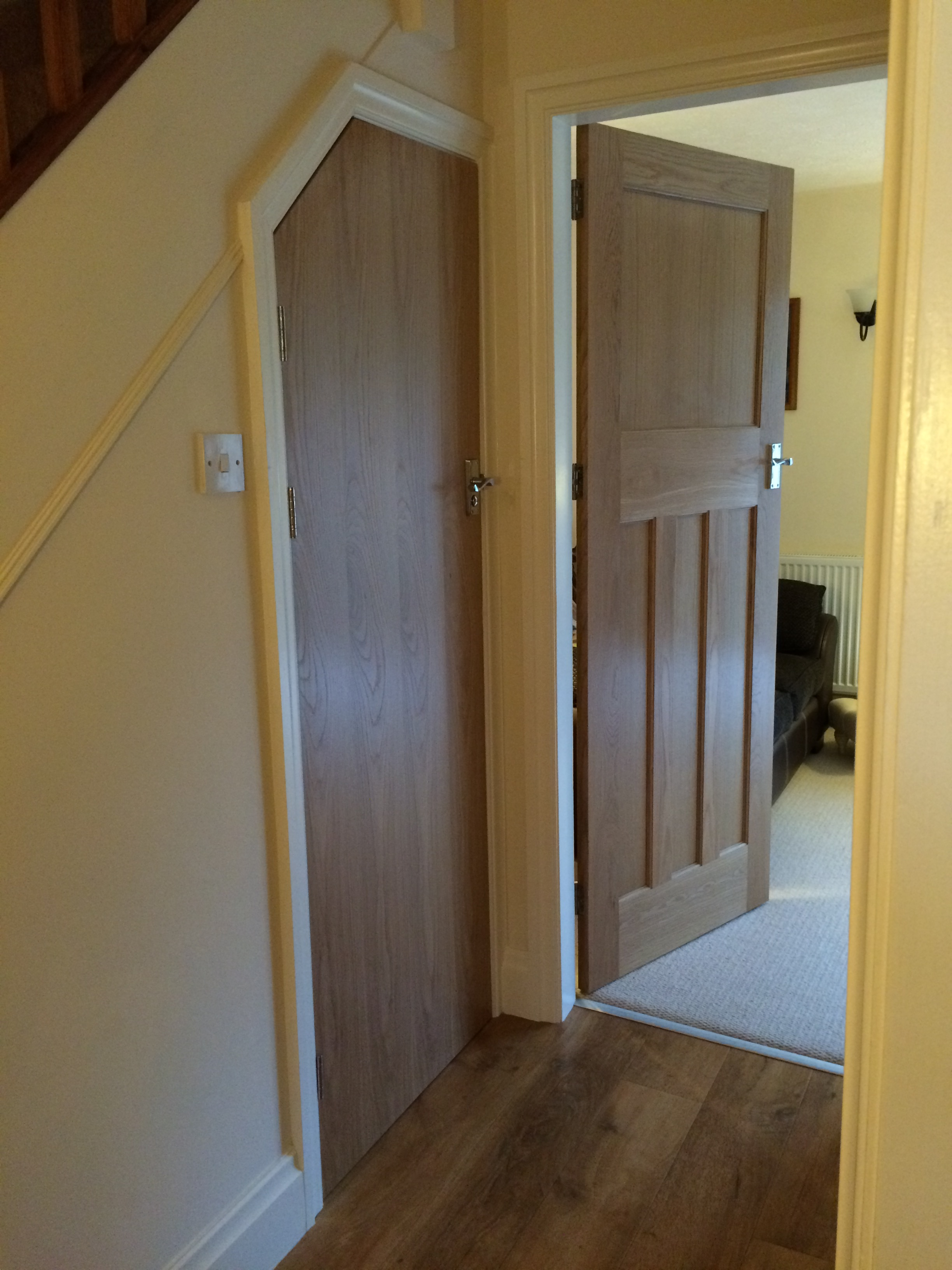 Cupboard and wc doors that match oak internal doors the for Special order doors