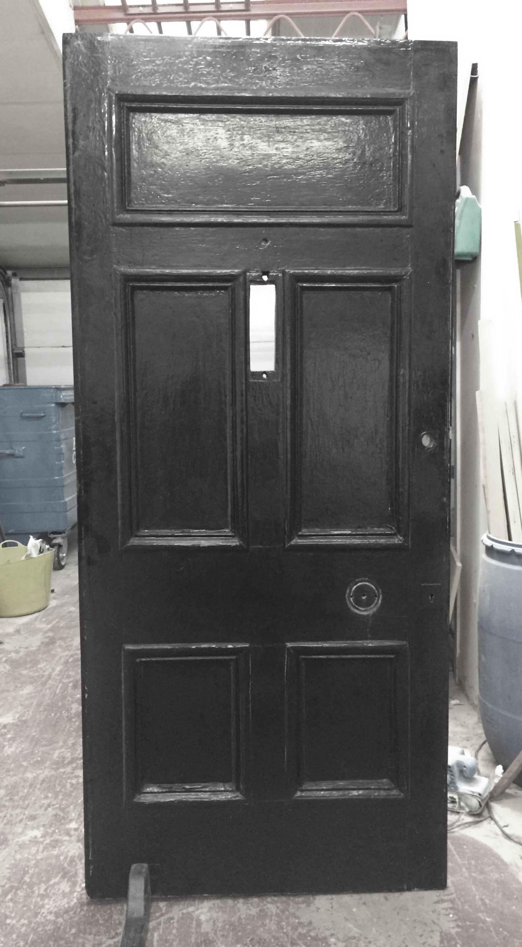 Victorian Front Door C1890 Restoration Altrincham 2015