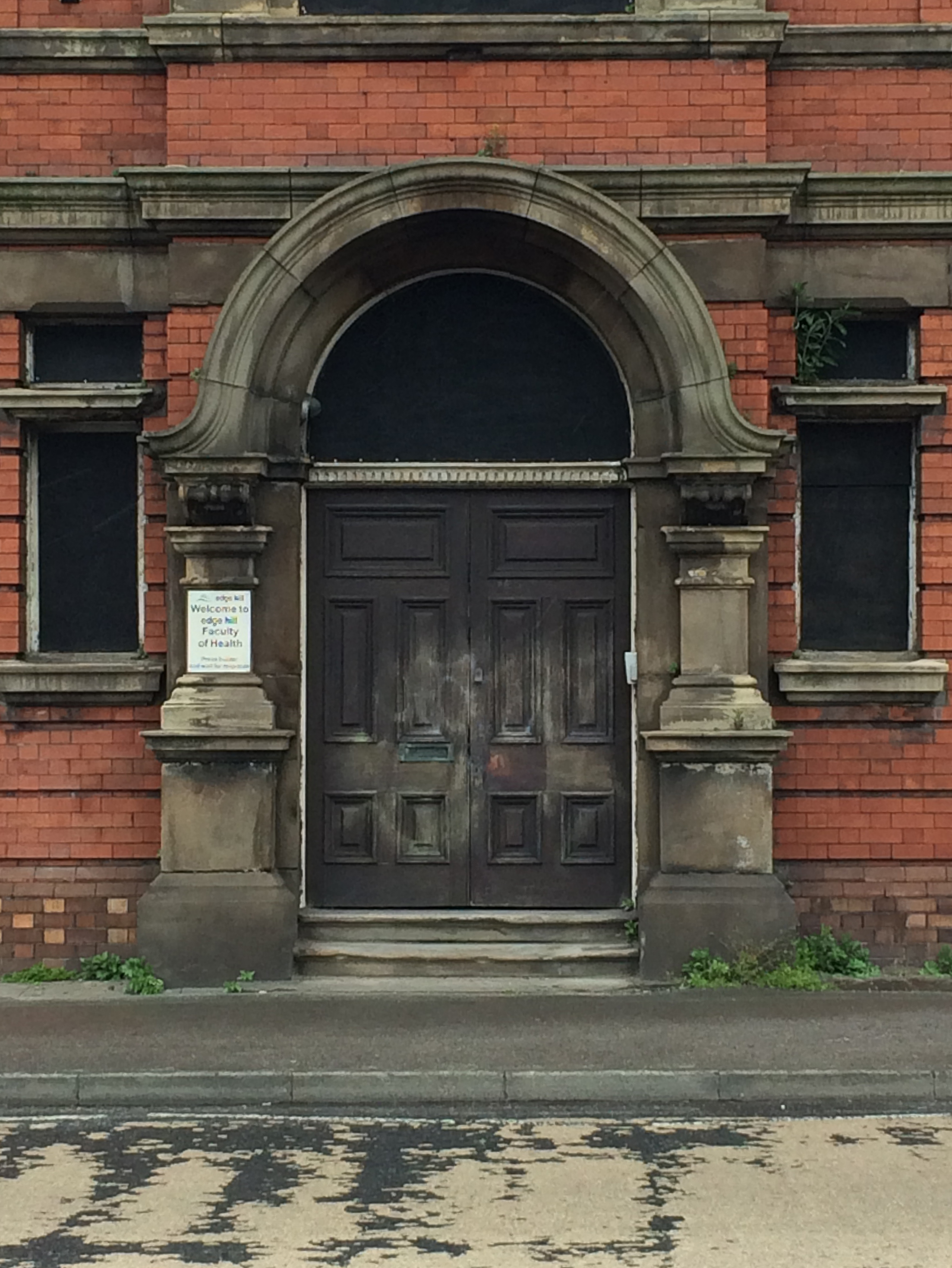 Doors of manchester stockport workhouse 1905 the for Grand entrance doors