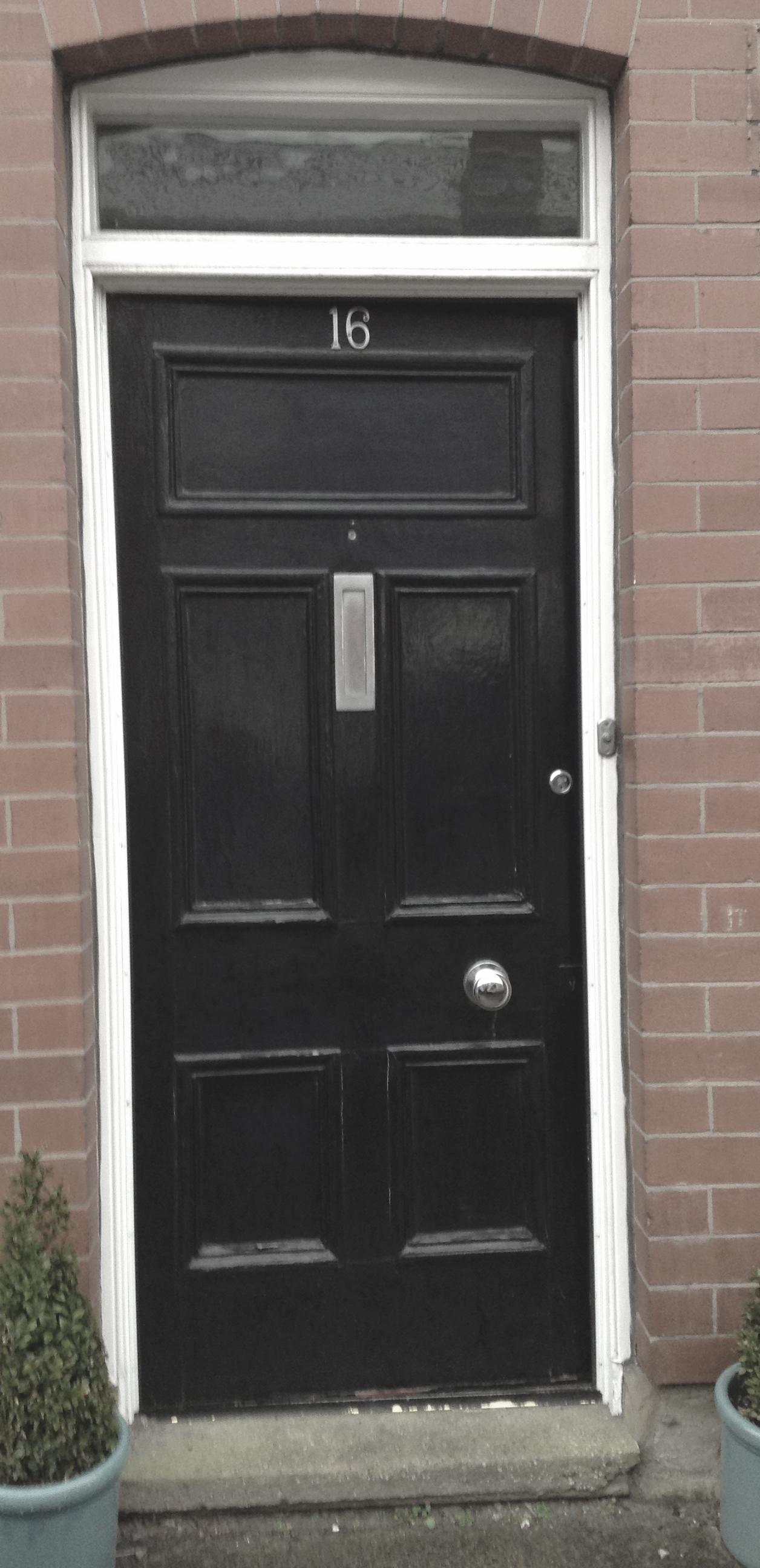2592 #746157 Victorian Front Door (c1890) Restoration Altrincham 2015 The  save image Jen Weld Entry Doors 40171256