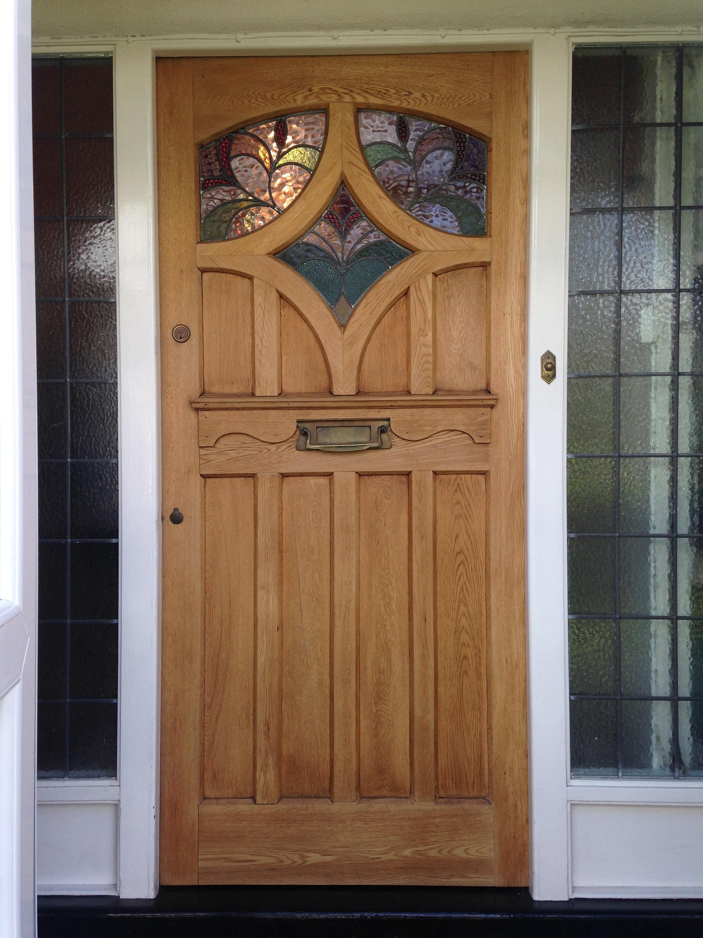 3264 #72482A Victorian Door Company Bespoke Wooden Front Doors Oak Front Door  pic Stained Glass Panels For Front Doors 40212448