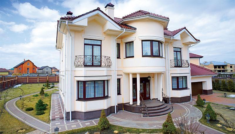 Красивые дома фото и их дизайн фото