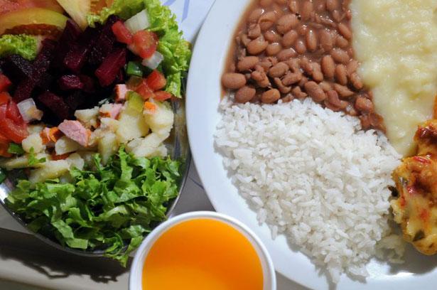 Resultado de imagem para alimentação basica do brasileiro