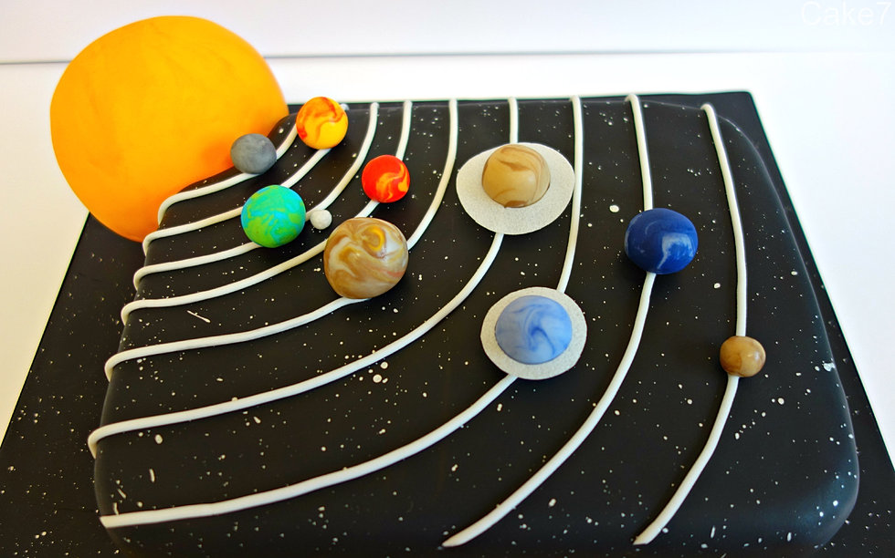 name solar system cake - photo #48