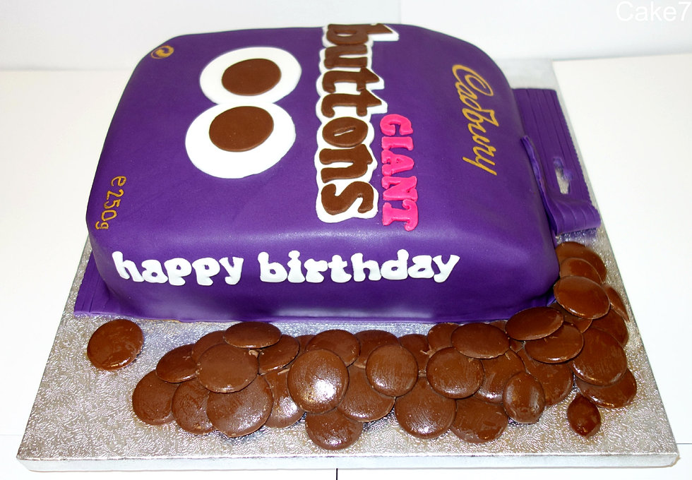 Birthday Cake Chocolate Buttons ~ Image Inspiration of ...