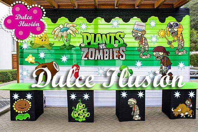 Decoracion plantas vs zombies for Decoracion con globos plantas contra zombies