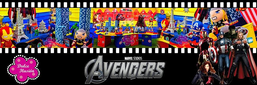 Decoración Fiesta Infantil Los Vengadores - Avengers | Dulce Ilusión