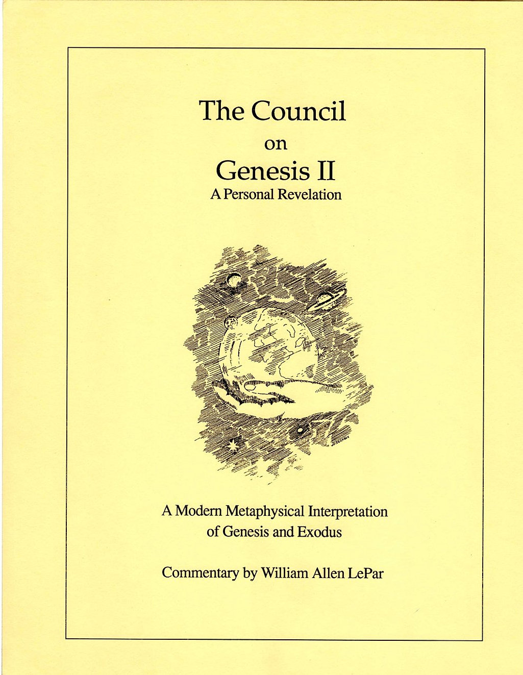 The Council on Genesis 2