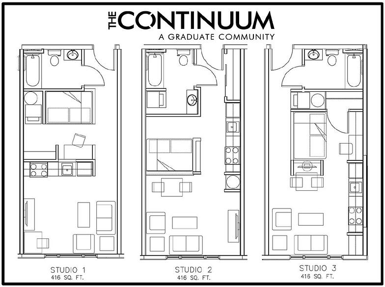 Studio Floor Plans Layouts