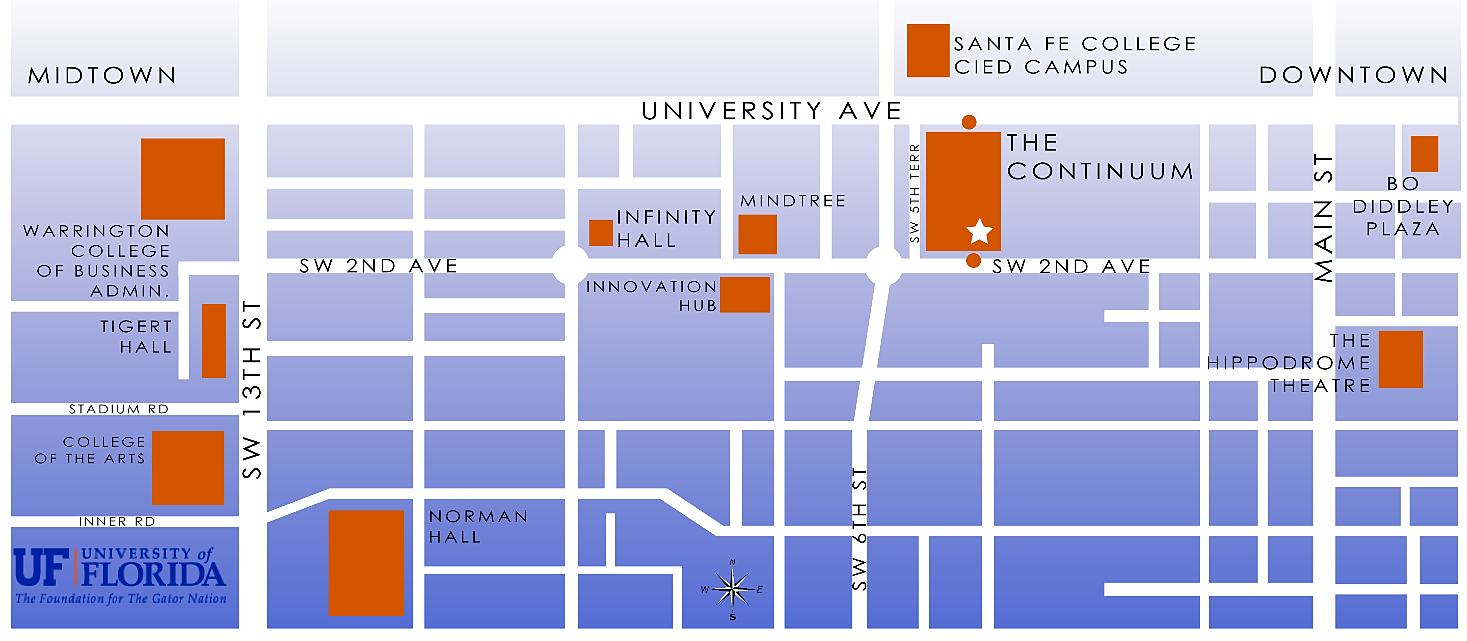 The Continuum Apartments Simply Live Continuum Area Downtown Map Png