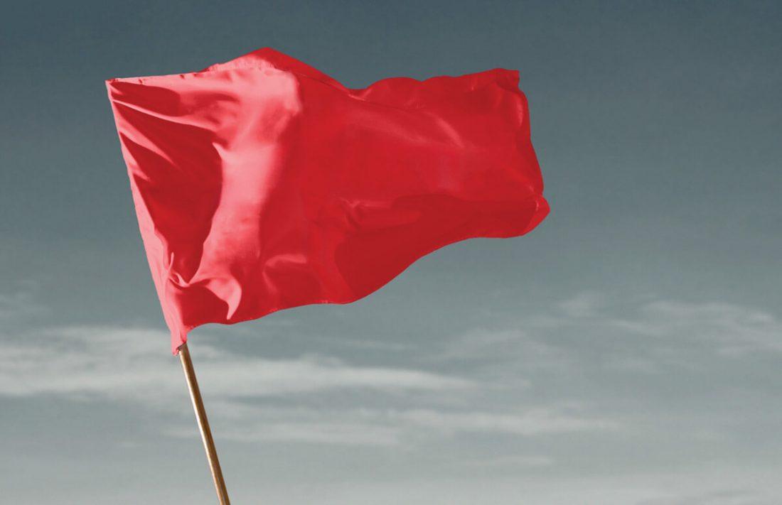 Resultado de imagem para bandeira vermelha