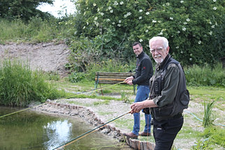 Fly fishing trout london fly casting lessons for Fishing lessons near me
