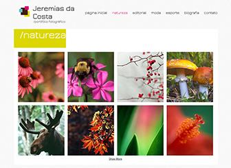 Fotógrafo Moderno Template - Crie um portfolio virtual elegante com um tema moderno. Faça upload de fotos para as galerias, mostre seus projetos, personalize o texto e conte sua história. Faça alterações no design e jogue com as cores para mostrar sua visão estética.