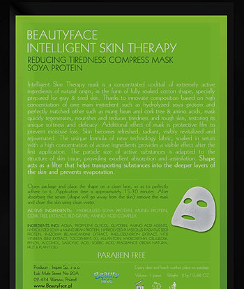 gezichtsmasker tegen rimpels