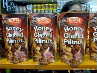 Honey Glazed Pili