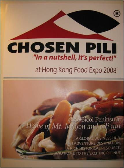 Pili at Hongkong Expo