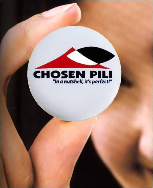 Chosen Pili button