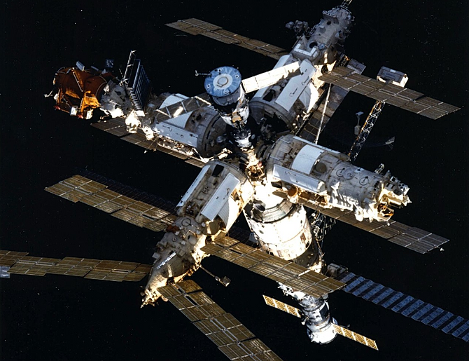 large space station mir diagram - photo #10