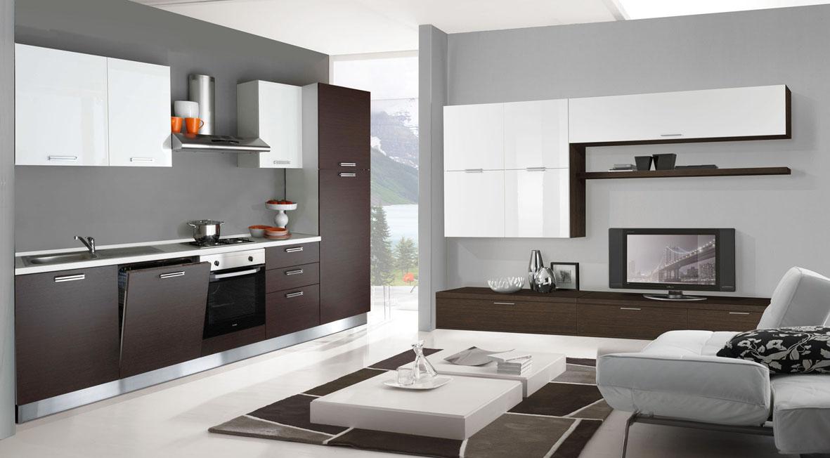 Immagine casa malta - Arredare sala con cucina a vista ...