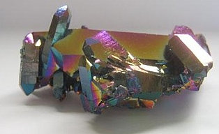 Rainbow Flame Aura Quartz