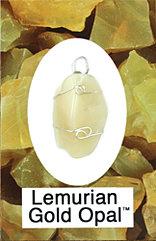 Lemurian Gold Opals