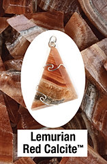 Lemurian Red Calcite