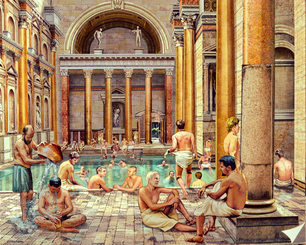 Baths Of Caracalla / Ancient World Alive