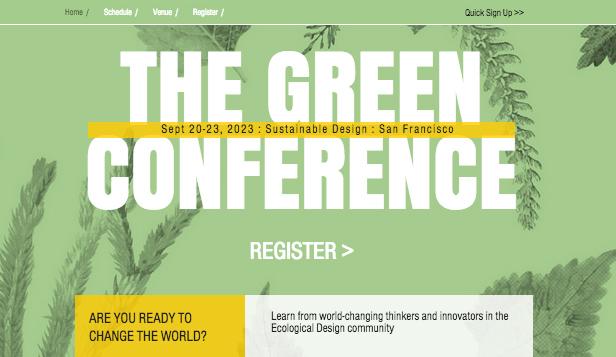 Ökodesign-Konferenz