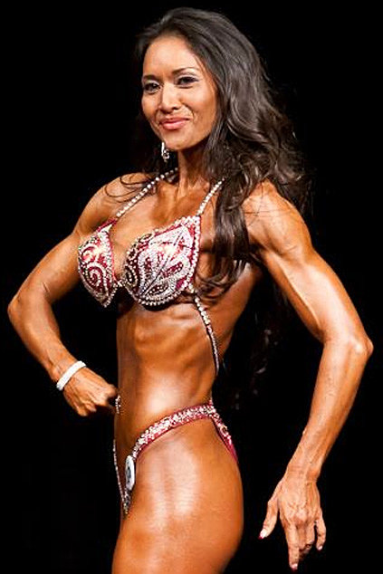 Posing suit for competition by Renee Paz, Bikini, bodybuilding, figure