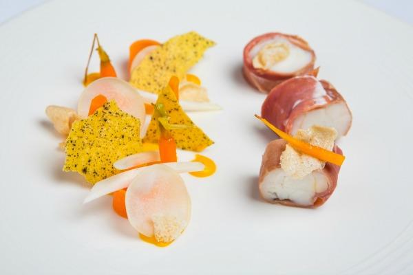 Edinburgh evening news 39 parma ham wrapped monkfish for Monkfish and parma ham recipe