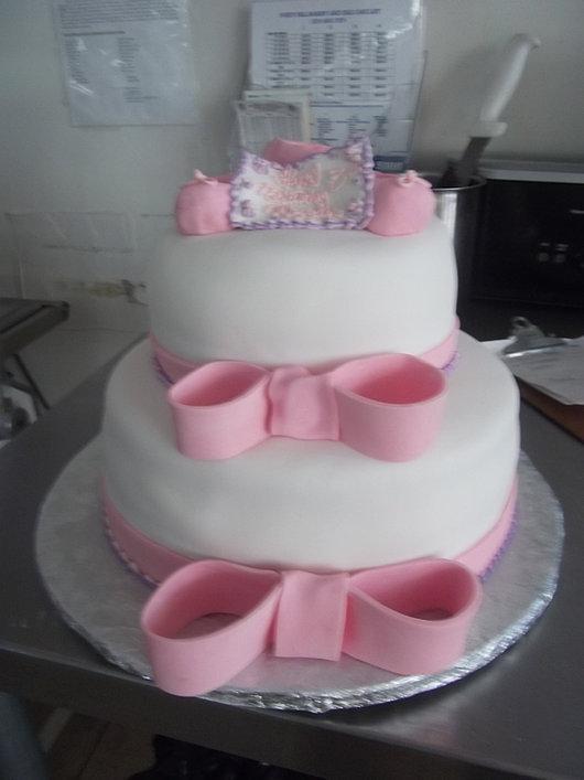 Bow Cake Custom Made!