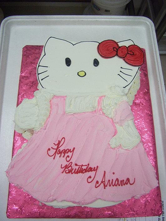 Custom Hello Kitty Birthday Cake!