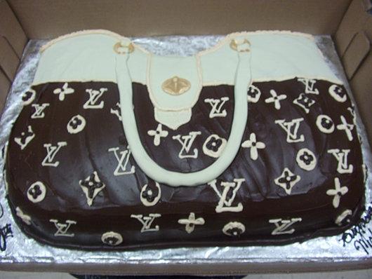 Louis Vuitton Birthday Cake!