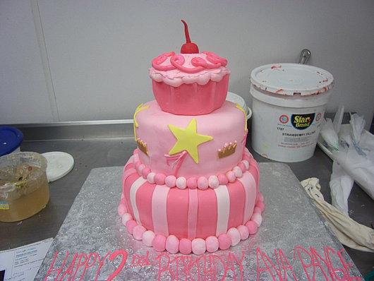 Birthday Cake Custom Made!
