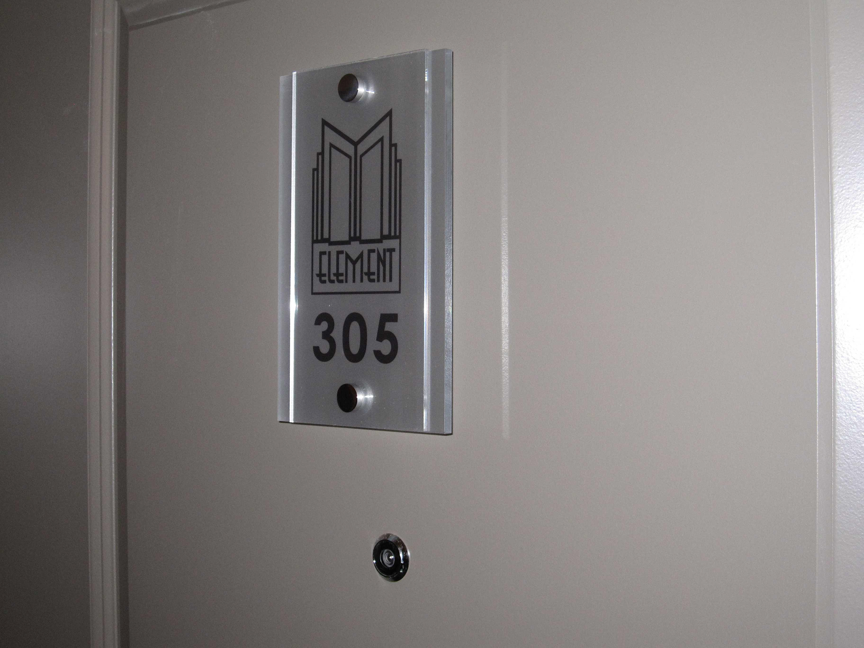 Select Graphix & Printing LTD. | Apartment Door Number Signs