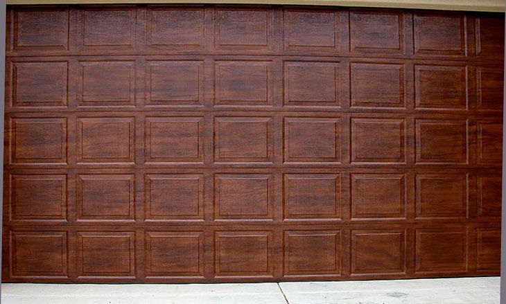 32 Model Faux Wood Garage Doors Wallpaper Cool Hd