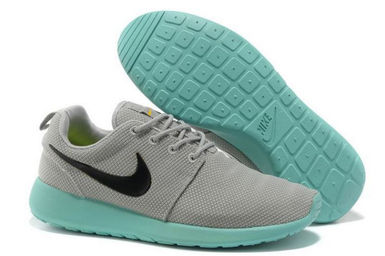 Nike Roshe Run Grises Y Rosas